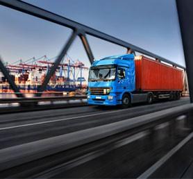 Dojazd kamiónov na Slovensku