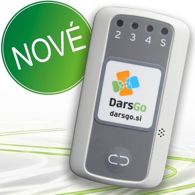 Palubná jednotka DarsGo: Elektronické mýto v Slovinsku